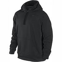 Спортивная кофта (балахон) Nike черная SK-3031