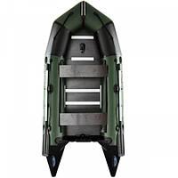 Лодка пвх с мотором AquaStar К-330 RFD зеленая