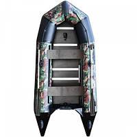 Килевая надувная лодка AquaStar К-330 RFD камуфляжная