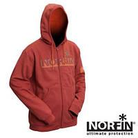 71100  Куртка флисовая с капюшоном NORFIN (терракот) (71100 )