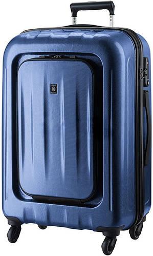 Пластиковый чемодан на 4-х колесах 123 л. CARLTON Zakken 234J478;42 синий