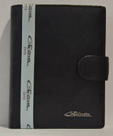 Портмоне мужское Gerogio Ferretti из кожи, GF-00003-6, Черное