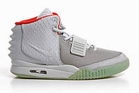 Мужские кроссовки Nike Air Yeezy 2 Wolf Grey/Pure Platinum