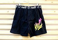 Чоловічі труси боксери - Neff - Classic Rasta Tag (мужские трусы боксеры семейки)