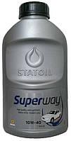 Моторное масло полусинтетическое Statoil (Статоил) Super Way 10w40 1л