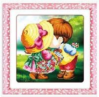 """Набор для вышивки крестиком """"Детская любовь"""" 3Д"""