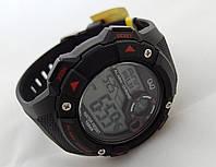 Часы  водостойкие Q@Q  10Bar, можно плавать, противоударные, m145j001