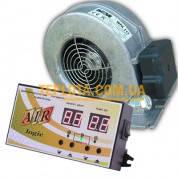 Комплект автоматики для твердотопливных котлов МРТ-AIR logic + вентилятор