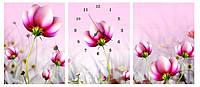 """Набор для вышивки с 3D эффектом """"Розовые цветы"""" полиптих"""