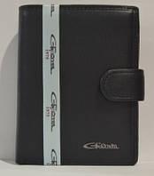 Портмоне мужское Gerogio Ferretti из кожи, GF-00015-2, Черное