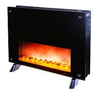 Обогреватель-камин DF-HT202, на керамическом нагревательном элементе, контроль температуры в комнате, таймер