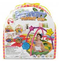 Коврик для малышей с погремушками 812-2