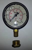 Манометр глицериновый 2,5 атм, капельное орошение