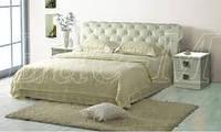 Кровать двуспальная Афина-3 белая