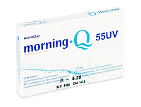 Линзы для глаз Morning Q 55 UV
