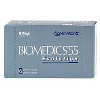 Линзы для глаз Biomedics 55 Evolution