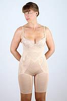 Женское корректирующее белье шорты с завышенным поясом, по две косточки спереди и сзади в области талии.