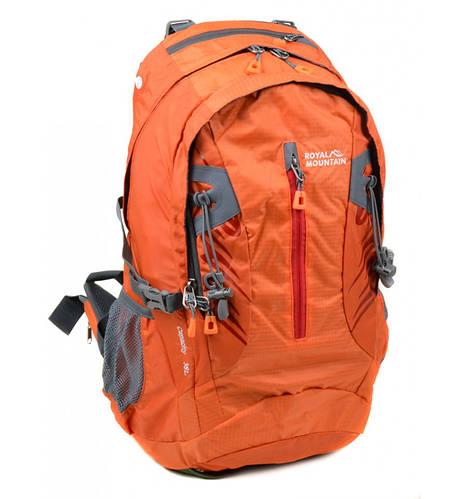 Оригинальный туристический рюкзак 38 л. Royal Mountain 4097 orange оранжевый