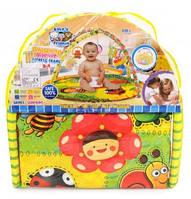 Детский коврик с погремушками Н614