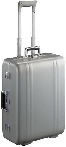 Премиумный чемодан из алюминия 6-колесный 60 л. Zero Halliburton ZR24WT серебристый