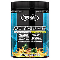 Amino Rest 500g  Ананас, Вишня Real Pharm (BCAA + L-Glutamine)