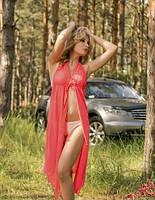 Пляжная туника-сарафан SOROKKA