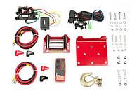 Лебедка электрическая для квадроцикла DRAGON WINCH DWH 2500 HD 12V/1,13 т