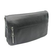 Клатч мужской кожаный сумочка на плечо Canpellini