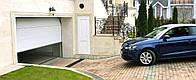 Секционные гаражные ворота в Одессе, с автоматикой