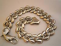 Женский серебреный браслет 585 пробы