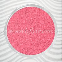 Розовый цветной песок