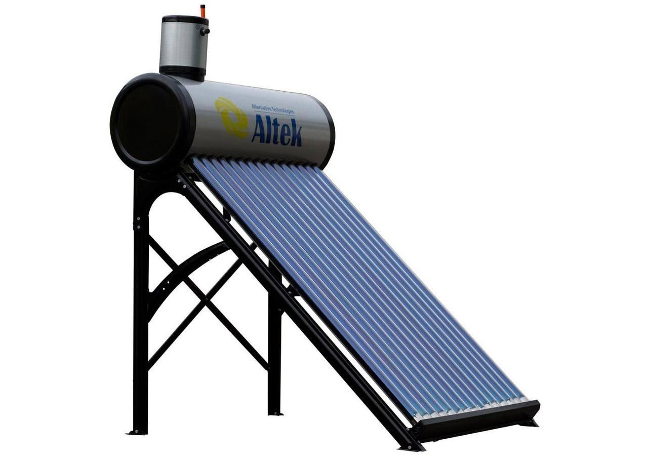 Солнечный конвектор для нагрева воды своими руками