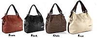 Стильная женская сумка WeidiPolo коричневая