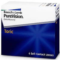 Линзы для глаз торические PURE VISION TORIC