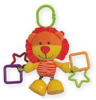 Плюшевая игрушка на клипсе BABY MIX