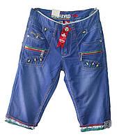 Мужские джинсовые бриджи юниор