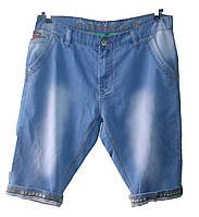 Мужские джинсовые бриджи батал