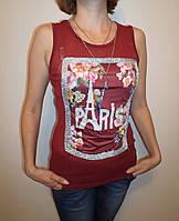 """Женская майка-сетка """"PARIS"""" 966"""