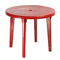 Круглый пластиковый стол d=90 см (цвета в ассортименте)