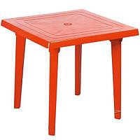 Стол пластиковый квадратный 80х80 см (цвета в ассортименте)