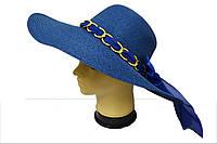 Широкополая шляпа с цепочкой Монро