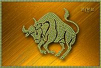 Схема для вышивки бисером Знаки зодиака. Телец КМР 5072