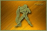 Схема для вышивки бисером Знаки зодиака. Водолей КМР 5080