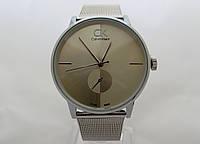 Часы мужские - CK Calvin Klein в серебристом цвете