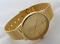 Часы мужские - CK Calvin Klein в золотом цвете