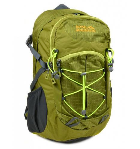Компактный туристический рюкзак 28 л. Royal Mountain 8343 green зеленый