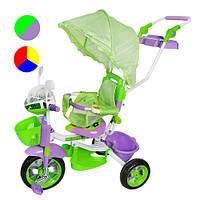 Велосипед с полиуретановыми колесами Profi Trike TC 209 C 3