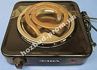 Плита электрическая настольная Элна 010Н (1-конфорка, 1кВт, широкий тен)