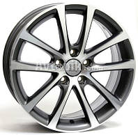 Литые диски WSP Italy Volkswagen (W454) Eos Riace R18 W8 PCD5x112 ET45 DIA57.1 (anthracite polished)