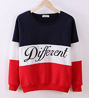 Очаровательный женский свитер Different Красный